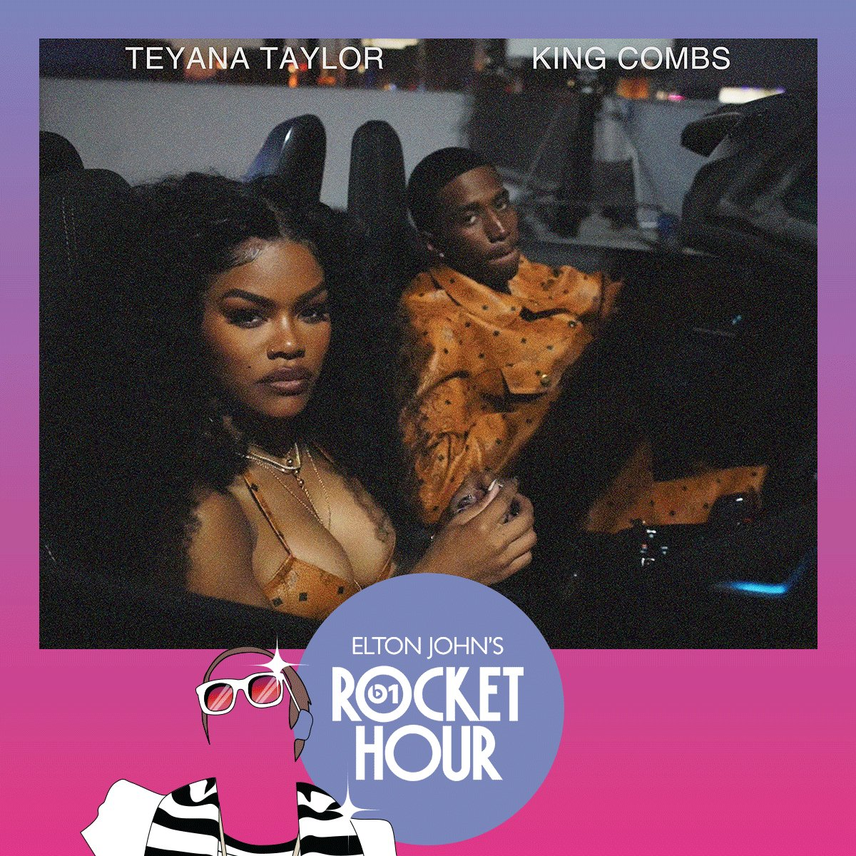 Image for the Tweet beginning: On the #RocketHour today  @africaexpress @ThelmaPlum_ @TEYANATAYLOR @InhalerDublin  + more