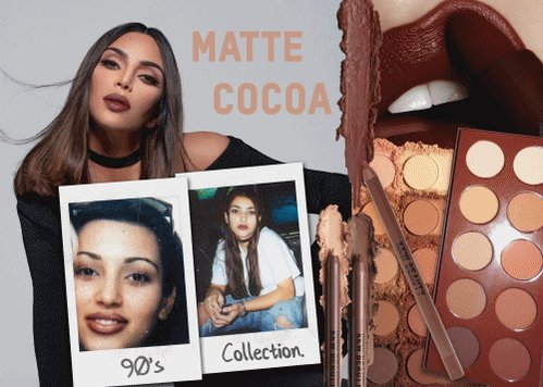 MATTE COCOA BUNDLE.  OUT TODAY @ 12PM PST.  ON  http://KKWBEAUTY.COM