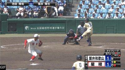 【高校野球】星稜がタイブレーク制し8強!延長14回サヨナラホームランで決着 奥川23K完投
