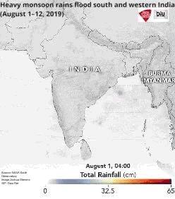 Monsoon map.