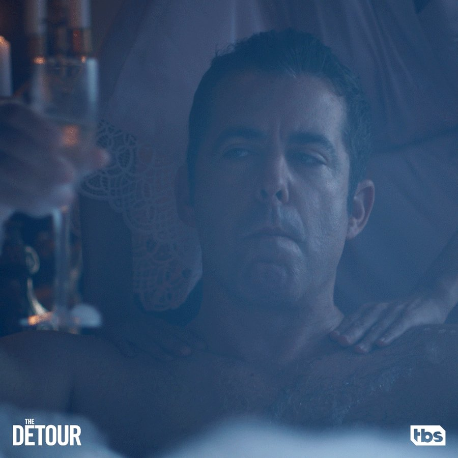 When you have to clean off the uranium but you're also marrying an oligarch's daughter. #TheDetour