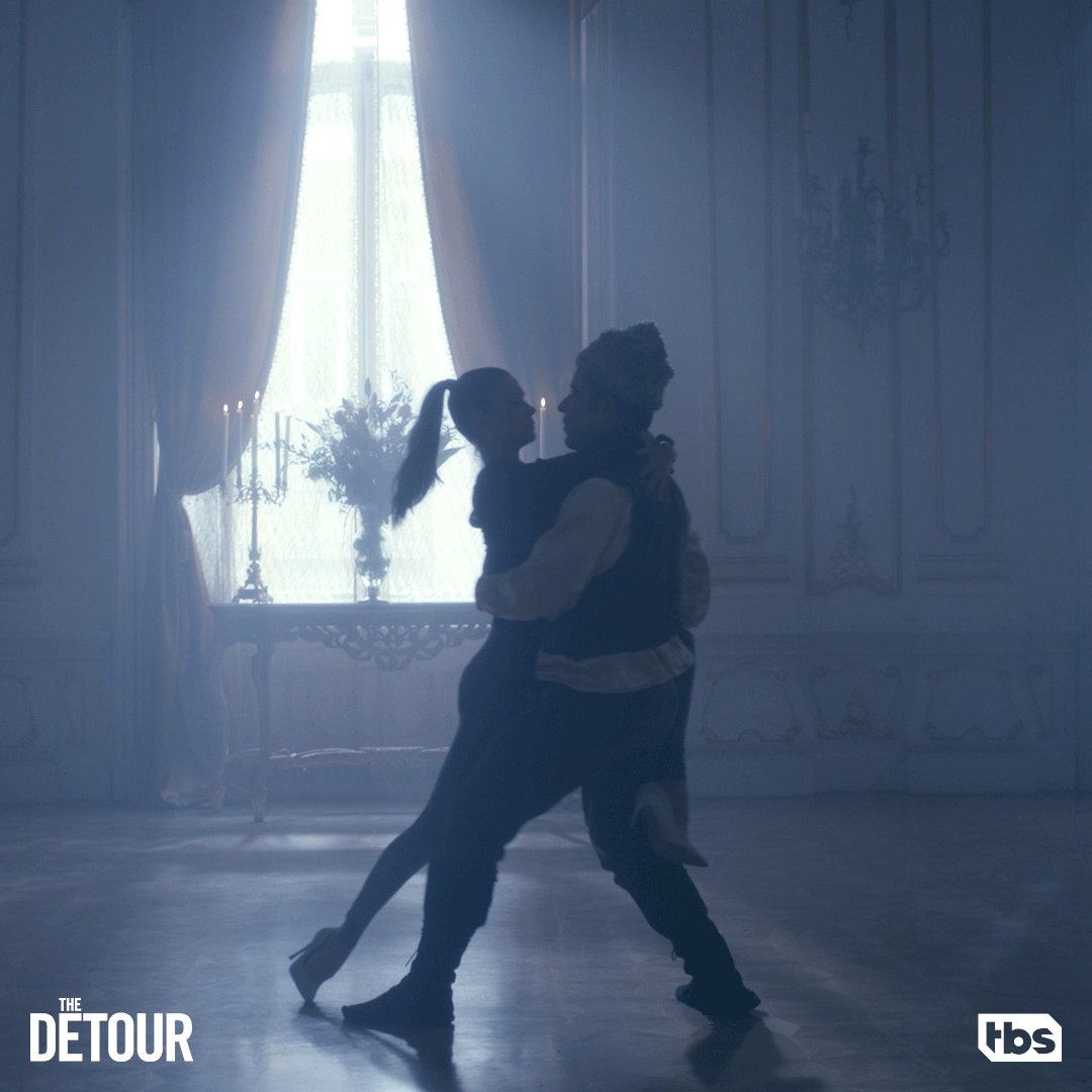 Who knew Nate was also such a gifted dancer? #TheDetour