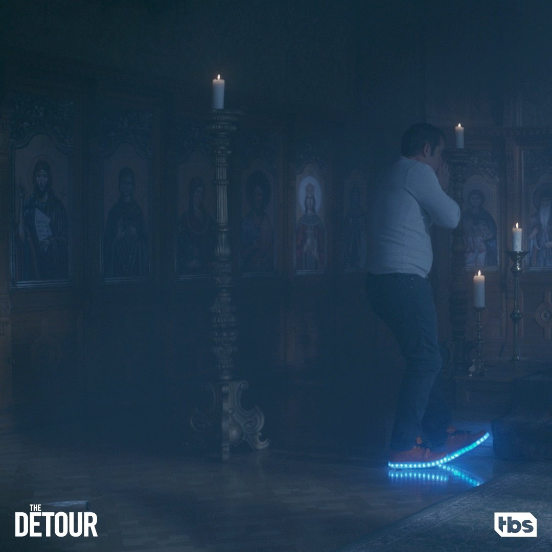 A great way to make an impression on your soon to be Russian oligarch father in law. #TheDetour