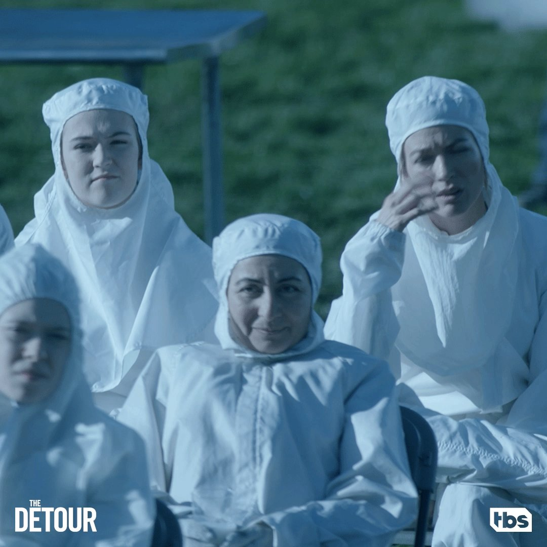 """When you're expecting a different """"Funky Bunch."""" #TheDetour"""