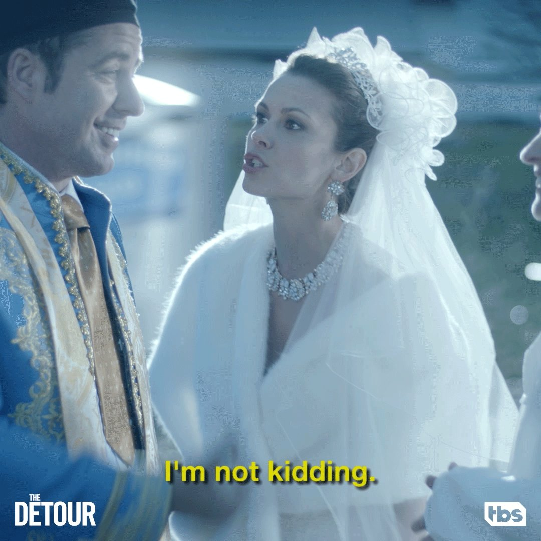 Oh, serious Natalia is quite terrifying. #TheDetour
