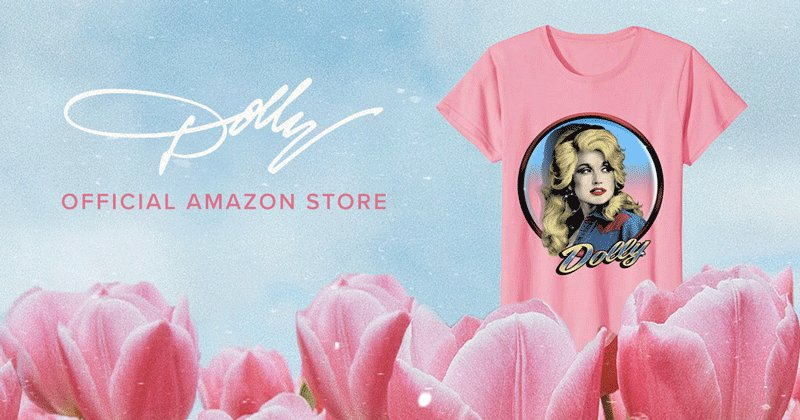 Ready to rock some brand new Dolly merch? Check out my @Amazon store now ✨ bit.ly/DollyPartonSto…