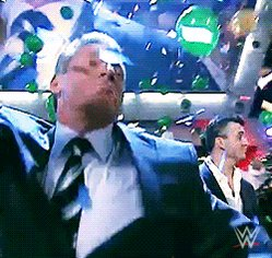 Happy Birthday Vince please give the WWE Company to Triple H when you Retire