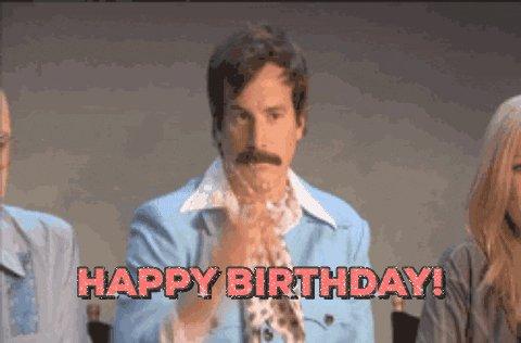 Happy birthday legand