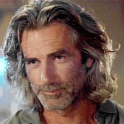 Sam Elliott has glorious hair! No questions.   and happy birthday Matt!