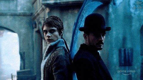 @Stargaryen01 @CarnivalRow I know, and this two? Obsessed. ❤️ #carnivalrow