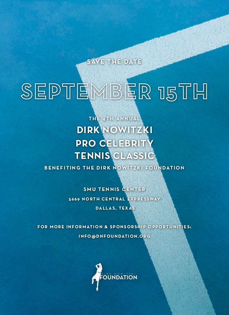 Who is up for watching some tennis? Here is the link for tickets  https://offer.fevo.com/dirk-nowitzki-hamhyvp-9b1a102?fevoUri=dirk-nowitzki-hamhyvp-9b1a102%2F…