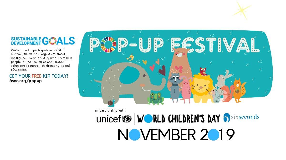 #EQPOPUP #WorldChildrensDay #KidsTakeOver #WorldsLargestLesson #CRC30 @6s_EQ