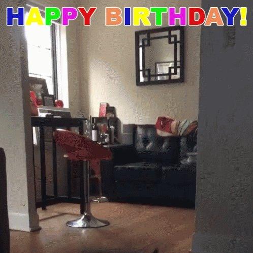 Oh hey!!! Happy birthday, love!!!