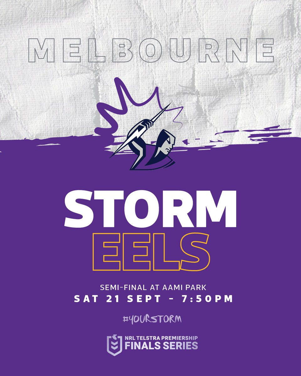 Image for the Tweet beginning: Don't miss #YourStorm at AAMI
