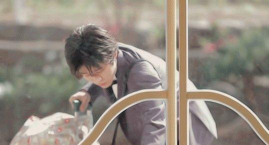 Hanbin coming back to us like:(the door isn't even closed binie)