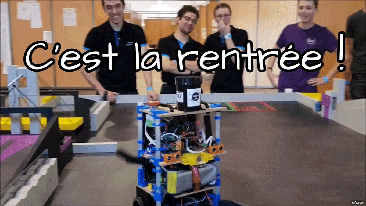 Image for the Tweet beginning: C'est la rentrée ! 😁 On