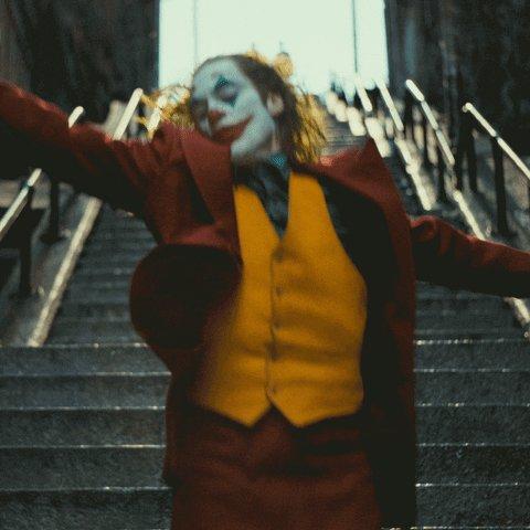 Image for the Tweet beginning: Congratulations to #Joker @jokermovie and