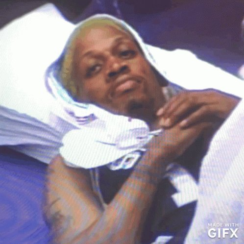 """""""If I die today, Imma die alone. But I'll take all those demons with me"""". - Dennis Rodman Damn...... 😔#30for30"""