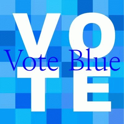 Who's voting BLUE in 2020? 💙