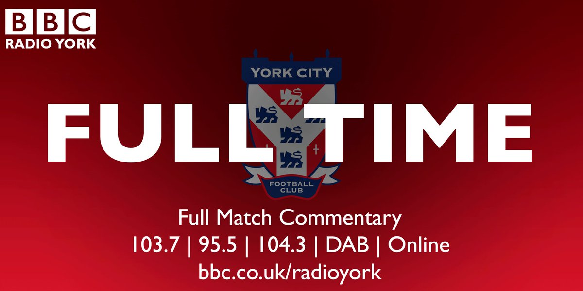 FULL TIME: Irlam 0-2 #ycfc  #bbcfacup