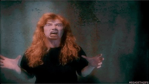 Happy belated birthday Megadave himself, Dave Mustaine! 58 years young yesterday!