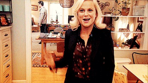 Happy birthday to the one & only Amy Poehler!  (She s basically the real-life version of Leslie Knope.)