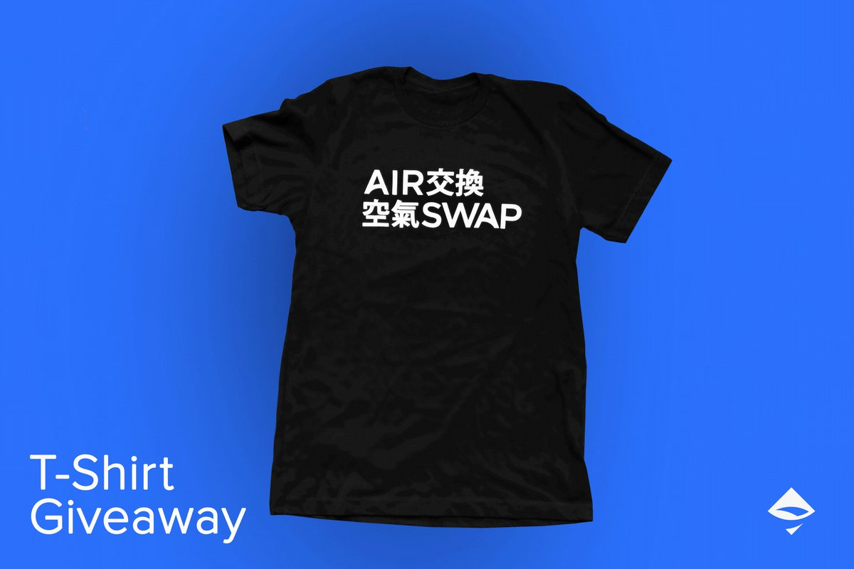 Image for the Tweet beginning: We're officially launching the AirSwap
