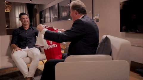 CR7 s'est vu offrir le maillot d'Arsenal