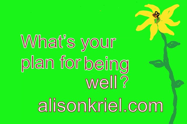 What's your plan for Being Well? Love my gif specially designed for me by @SDupp