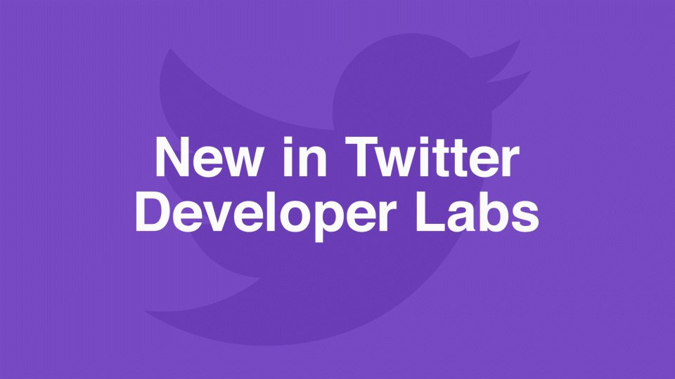 Today in Twitter Developer Labs we're releasing a new way to filter Tweets in real-time. This is one of the most popular features of our API. It allows developers to listen to hashtags, @mentions, and study what's happening. https://t.co/wKJy2Wr2wU https://t.co/TxdOXWZnK1