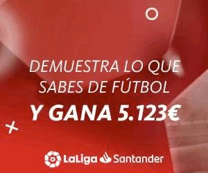 Si eres de los que dice que sabe de esto…demuéstralo en el Football Quiz de @LaLiga, solo por el premio ya merece la pena! #SantanderFootballQuiz #LaLigaAmbassadors  👉 iOS  https://t.co/vAcdJNtbWK 👉 Android: https://t.co/yBNKRt0QZC https://t.co/nfYlxCdwnT