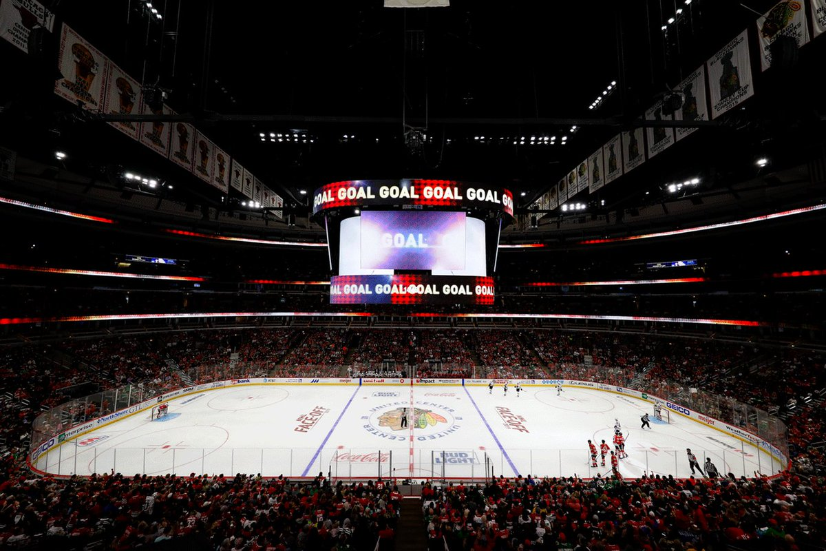 Chicago Blackhawks @NHLBlackhawks