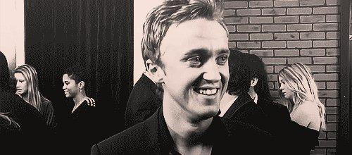 Happy birthday, Tom Felton! Thank you for helping bring Draco Malfoy to life!
