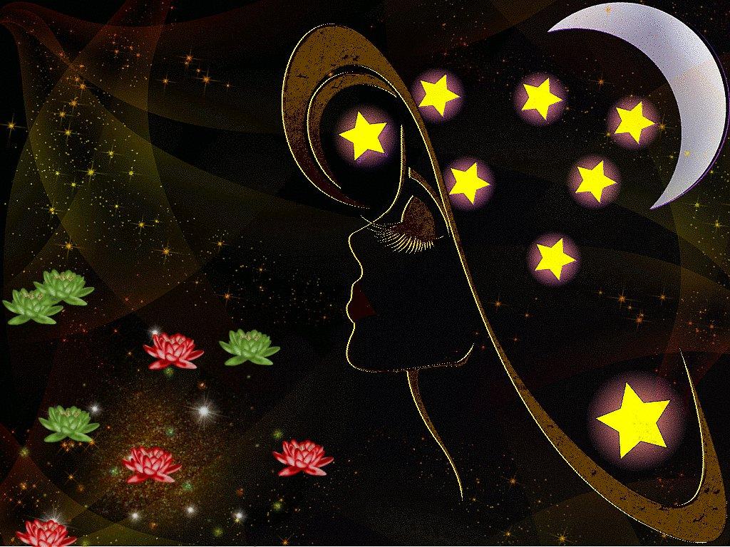 Днем, доброй ночи картинки красивые необычные нежные гифки