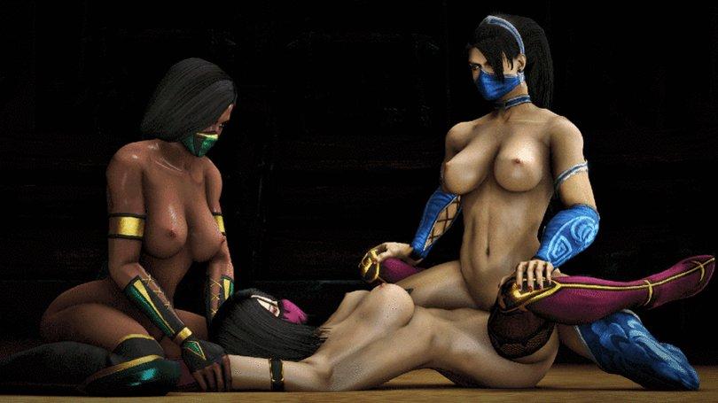 Mortal kombat, fucked kitana and jade in vr oculus