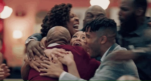 @davidmakesman And seeing your non-work friends after a whole week apart. #QUEENSUGAR