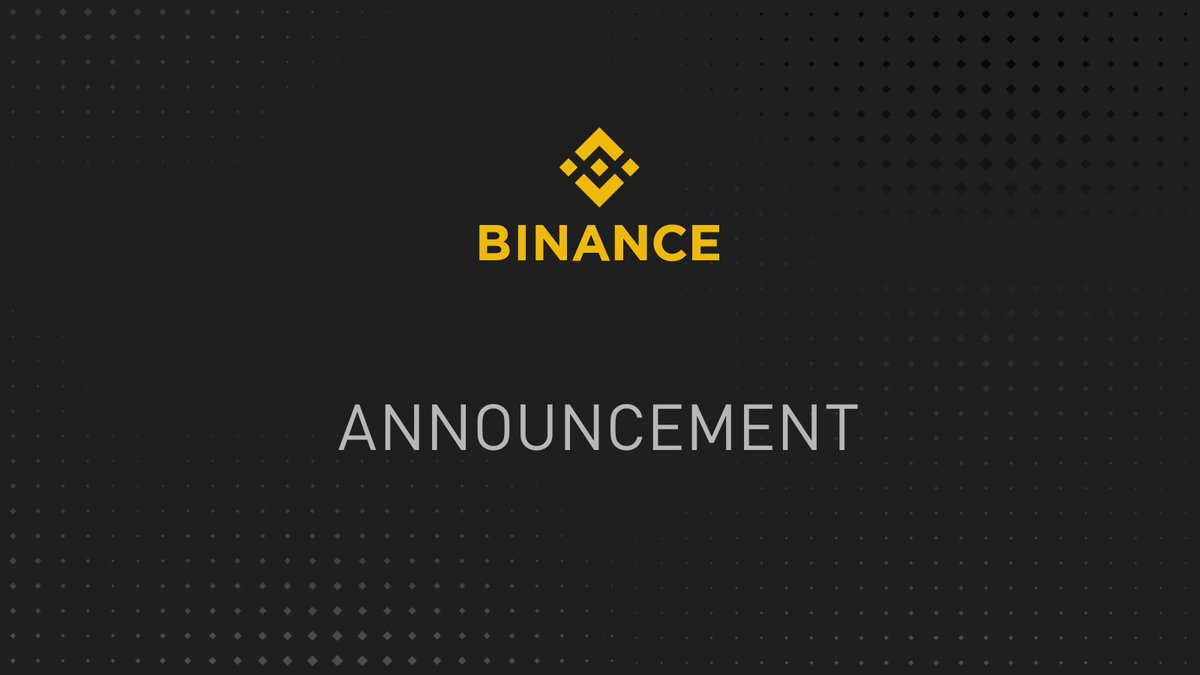 Due to the recent @binance  trading pairs removal, the corresponding open positions on #GenesisMarkets were closed and symbols are removed.