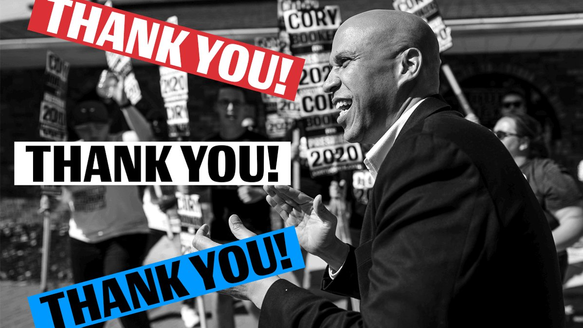 Booker Reaches $1.7 Million Fundraising Goal In Less Than 10 Days, Will Stay In Race