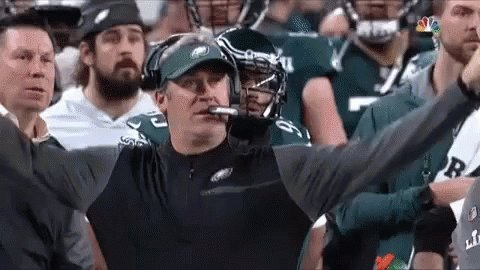 I agree 100% with @JackMcCaffery for Doug Pederson to run a fake field goal Doug Pederson has immunity for life for running the Philly special which got the #Eagles their first Super Bowl win