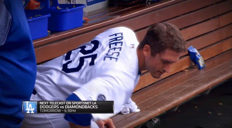 David Freese as a Dodger: A GIF thread: