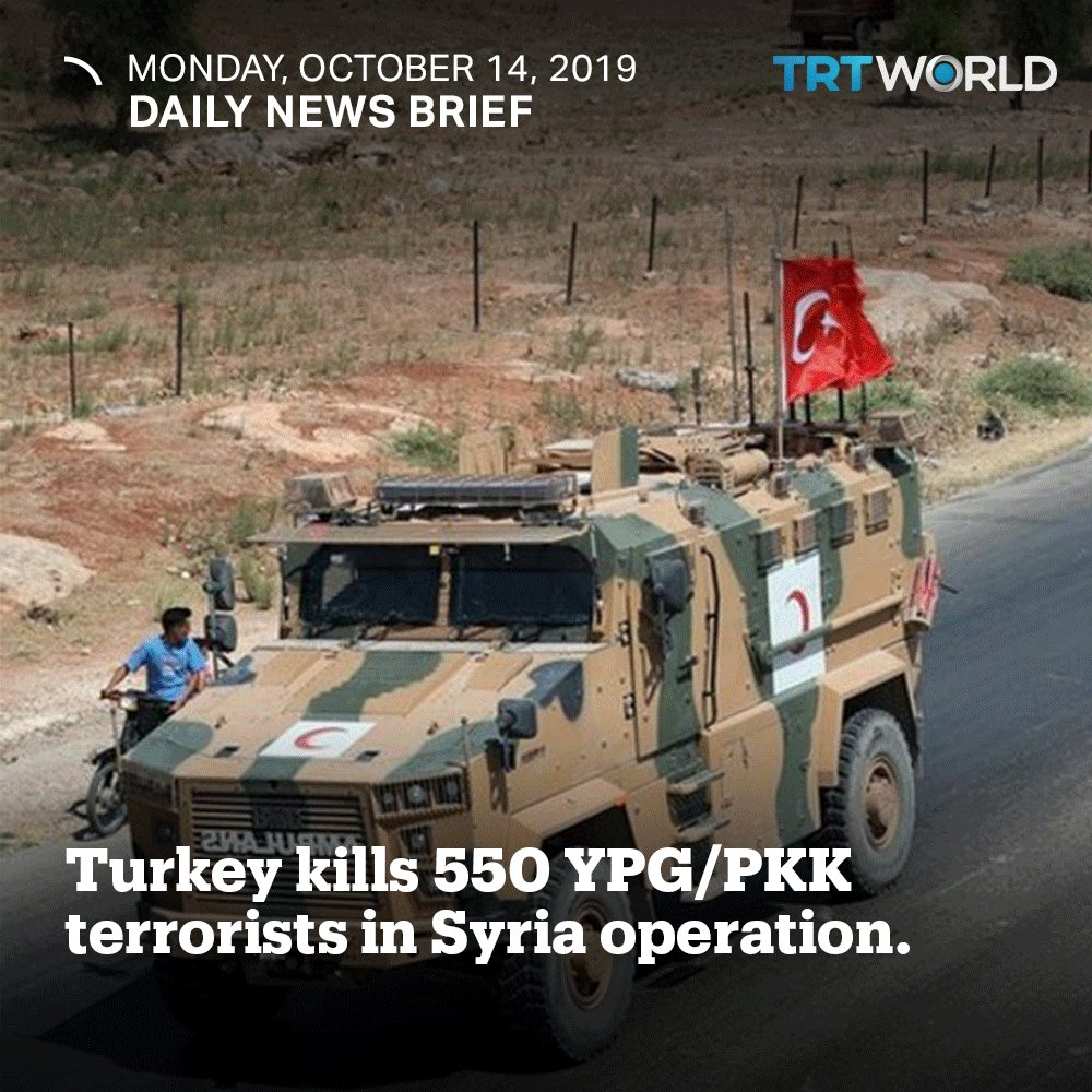Image for the Tweet beginning: Daily News Brief: Turkey has
