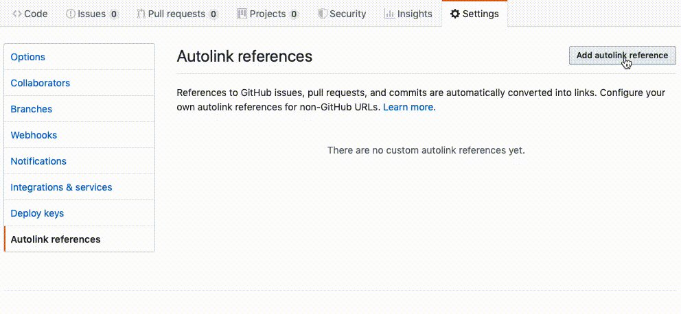 Should also work with #jira. It is just a link regex, but immensely useful. Well done @github!