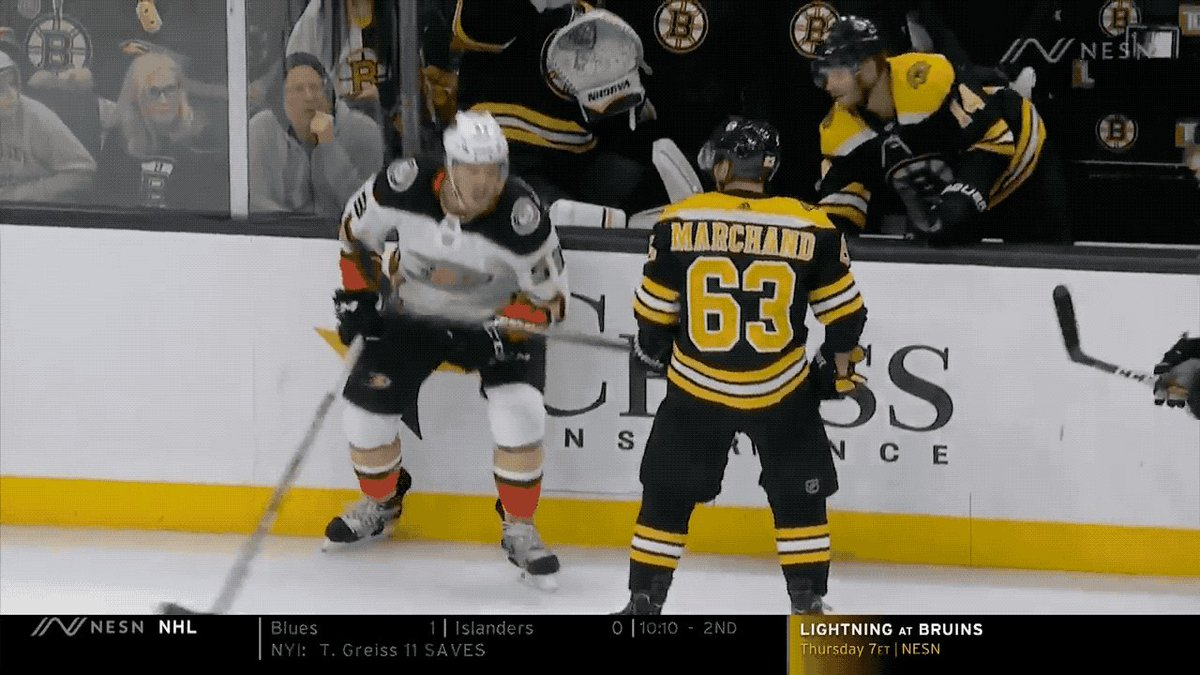 @Deadspin's photo on Brad Marchand