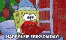 Leif Erikson seems like an Octoberfest kind of guy.