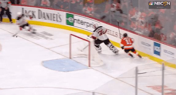 Maybe the #NJDevils should have used that no.1 pick to take a defenseman. That's 16 GA in 3 games, with 0 pts and -3 from Hughes. Still early of course, but a brutal start. #NJDvsPHI