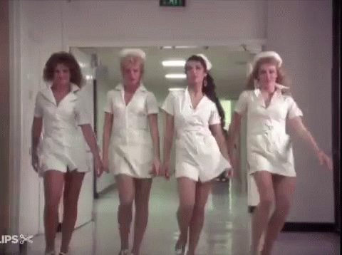 Yes, all nurses are really that naughty #ThingsNeverSaidInAHospital