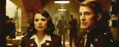 Probably because my life goal is to find myself a Peggy Carter and be Steve Rogers. But it's also a flawless movie.