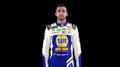 William Clyde has a really fast ride.   @chaseelliott will start on the pole for tomorrow's #1000Bulbs500 at @TalladegaSuperS.