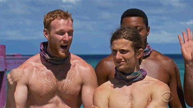 Me when I find out #Survivor  comes on in a 1/2 hour. Which tribe will be immune tonight? Who do you think will be voted off? Is a showmance ever a good idea? @TommySheehan22  #Survivor39  #DontSleepOn39