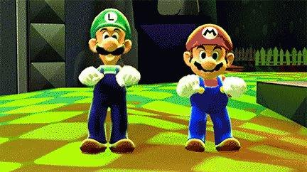 Replying to @Anythingpork: #AddPastaToAnything  Mario and Linguine